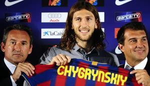 Chygrynskiy ficha para el Barcelona