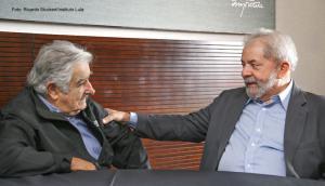 Encuentro con José Mujica y Luiz Inácio Lula da Silva. Foto Instituto Lula