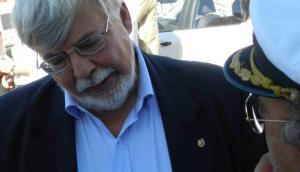 Eduardo Bonomi en Río Negro. Foto: Daniel Rojas