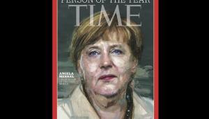Angela Merkel es el personaje del año según la revista Time. Foto: Time