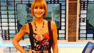 Con Martín Redrado, Amalia Granata se volvió seria