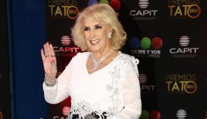 Mirtha Legrand en los premios Tato (Foto: La Nación)