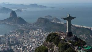 Cristo Redentor de Río de Janeiro. Foto: AFP