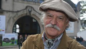 Juan Carlos López en la Expo Rural. Foto: Ariel Colmegna