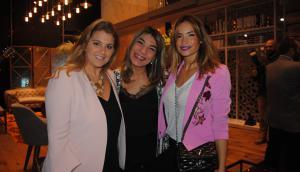Stephanie Liberman, Fabiana Ríos, Claudia Fernández.