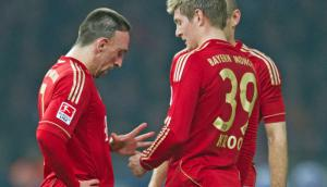 Ribery y Kroos
