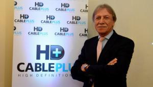 El Presidente del Directorio de Cable Plus Edgar Welker.