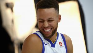 Stephen Curry, estrella de los Golden State Warriors. Foto: AFP.