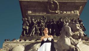 Fernanda Sosa realizó una producción de fotos en el Duomo de Milán