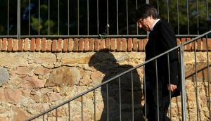 Puigdemont: el presidente catalán respondió a Rajoy pidiendo una instancia de diálogo. Foto: Reuters