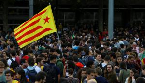 Manifestaciones en contra del encarcelamiento de líderes independentistas. Foto: Reuters