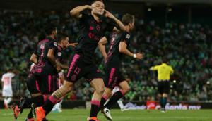 Jonathan Rodríguez volvió a convertir para Santos Laguna