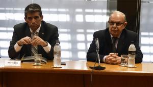 El entonces presidente de Ancap, Raúl Sendic, y el exdirector del ente, Germán Riet. Foto: F. Ponzetto