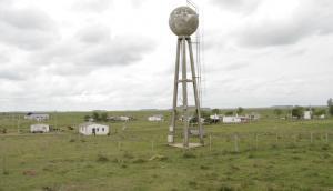 El poblado está perdido en la inmensidad de los campos sanduceros. Foto: Mateo Vázquez
