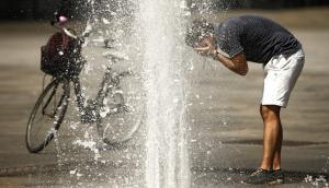 verano y calor Foto: AFP
