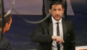 """Germán Paoloski durante la realización de NET en Punta del Este. Foto: Ricardo """"Chango"""" Figueredo."""