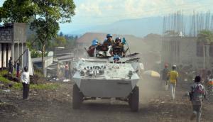 Tropas uruguayas se enfrentaron a rebeldes en el Congo. Foto: Ejército Nacional