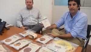 Apuesta. Rodríguez (izq.) y Albanell (der.) afirmaron que la empresa invirtió en equipo y personal para este proyecto. (Foto: Ariel Comegna)