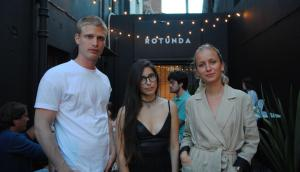 Kevin Jakter, Verónica Leyton, Sofía Domínguez.