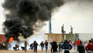 Ayer hubo nuevos incidentes entre palestinos y fuerzas de seguridad israelíes. Foto: AFP