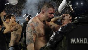 Partizan vs Estrella Roja, otra vez incidentes