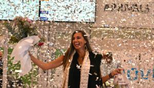 "Patricia Yelpo: la turista ""2 millones"". Foto: Presidencia"