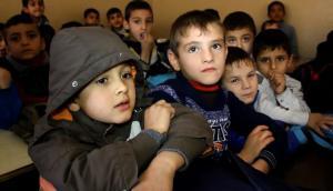 La educación es clave para que los niños olviden al Estado Islámico en Mosul. Foto: AFP