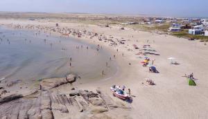Cabo Polonio visto desde el aire. Foto: El País