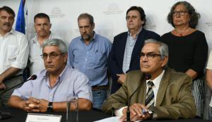 Presentación de Enzo Benech, nuevo ministro de Ganadería. Foto: Ariel Colmegna