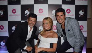 Julián Weich, Alejandra Forlán, Javier Azcurra.