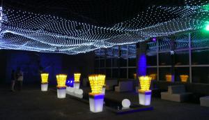 Brindis: el evento Aluzinarte en La Barra fue inaugurado ayer. Foto: R. Figueredo