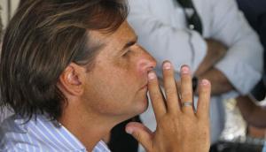 Luis Lacalle Pou. Foto: Pablo Fernández