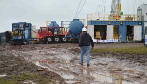 Petrel: ambientalistas dicen que vertió 125.000 litros de distinto productos químicos a menos de 100 metros de profundidad. Foto: D. Rojas