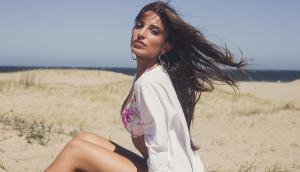 Jimena Sabaris. Foto: Licia Haro. Make up: Stella Carretto