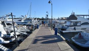 El puerto de Punta del Este es uno de los puntos turísticos más visitados.
