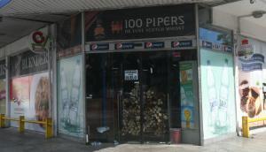 """El comercio está """"cerrado por duelo"""" tras el asesinato de la cajera. Foto: Francisco Flores"""