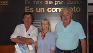 Enrique Palacio, Alejandra Knudsen, Ernesto Wainberg.
