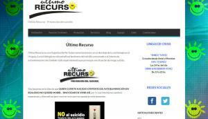 Página web de la ONG Último Recurso.