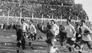 Uruguay campeón del mundo en 1930. Foto: archivo El País.