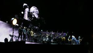 Phil Collins demostró el poder de sus canciones y lo intacto que está el cariño de los uruguayos. Foto: Darwin Borrelli