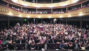 Centro Cultural: suma nuevas tecnologías para proteger materiales con valor patrimonial. Foto: Teatro Florencio Sánchez
