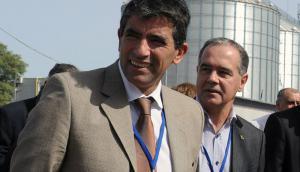 El expresidente de Ancap, Sendic y el exvicepresidente, José Coya, durante recorrida en una planta del ente; ambos fueron acusados. Foto: Walter Paciello | Presidencia.