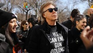 "Miles marcharon en la convocatoria ""March For Our Lives"" en Estados Unidos. Foto: AFP"