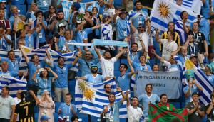 Hinchas uruguayos en Rusia Foto: Nicolás Pereyra