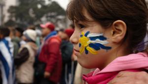 Uruguay a cuartos. Foto: Faustina Bartaburu