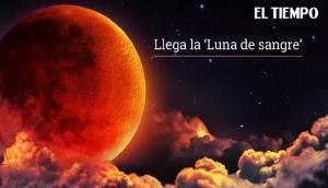 Eclipse luna de sangre