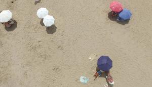 "La playa ""La Olla"" preferida de los surfistas. Foto: Ricardo Figueredo"