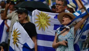 Un Solo Uruguay se volvió a manifestar en Durazno. Foto: Fernando Ponzetto