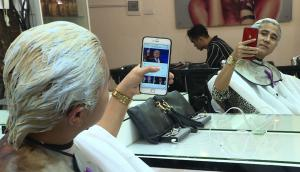 Peinados de Kim Jong Un y Donald Trump son furor en Vietnam. Foto: AFP