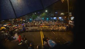 Edición 24 de la Marcha del Silencio en Montevideo. Foto: Gerardo Pérez